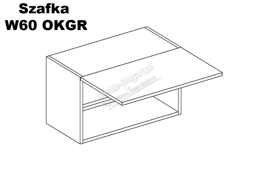 Nabytok-Bogart Emilia w60 okgr - digestorová skrinka - posledný kus