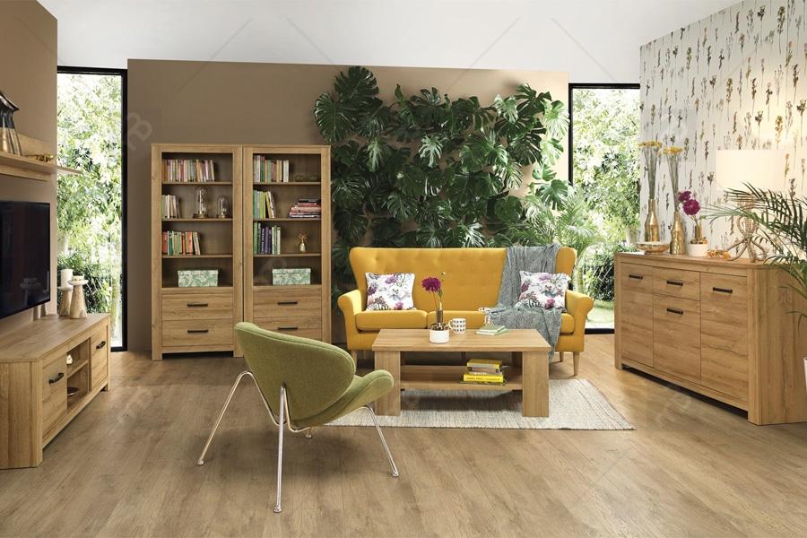 Nabytok-Bogart Komplet nábytku do obývacej izby havanna