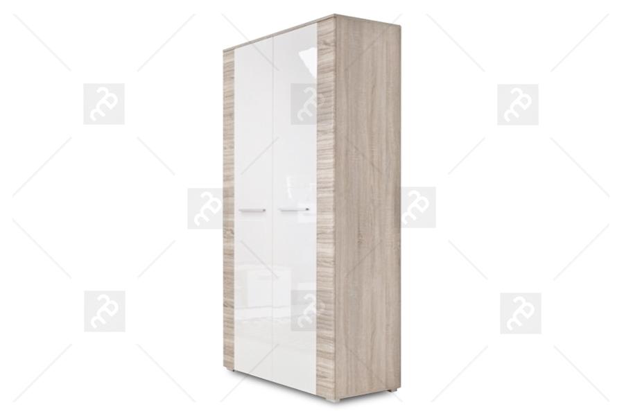 Szafa 2D BC1 Orinoko Dąb sonoma/Biały połysk -