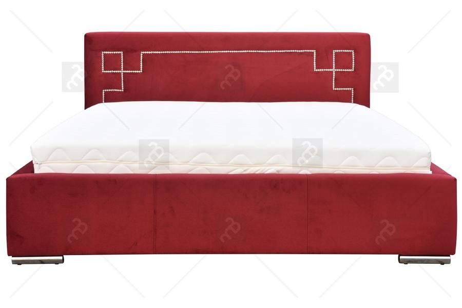 Nabytok-Bogart čalúnená posteľ greko 180 x 200