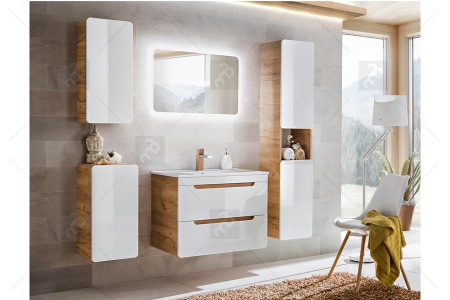 Lustro Do łazienki Natura Led
