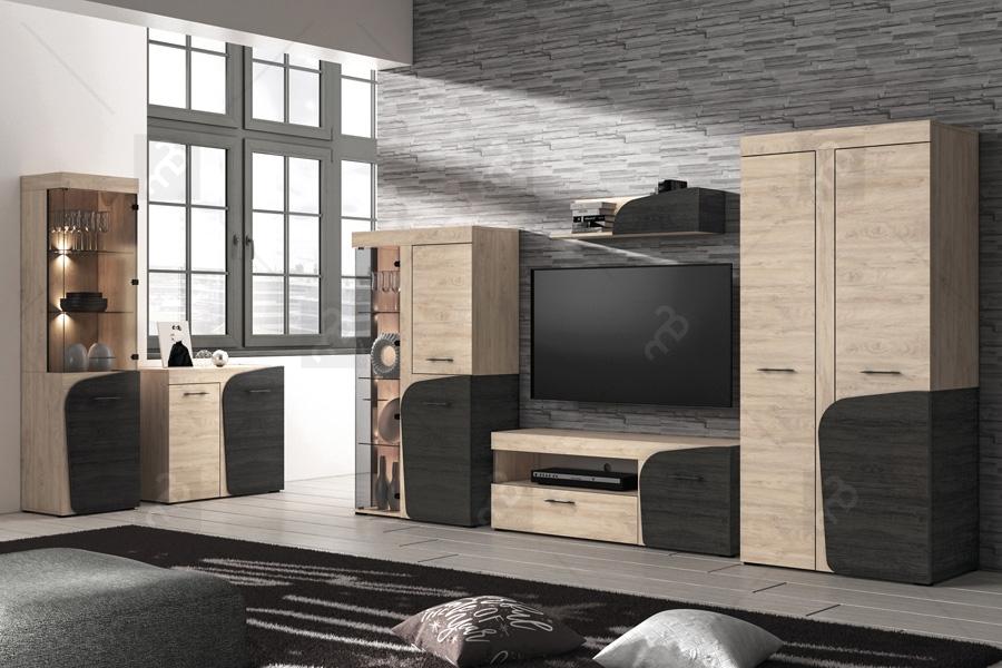 Nabytok-Bogart Zostava nábytku do obývacej izby azuro i