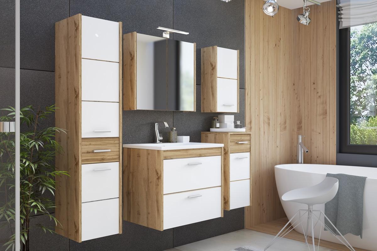 Zestaw Mebli łazienkowych Ibiza White 60 Cm