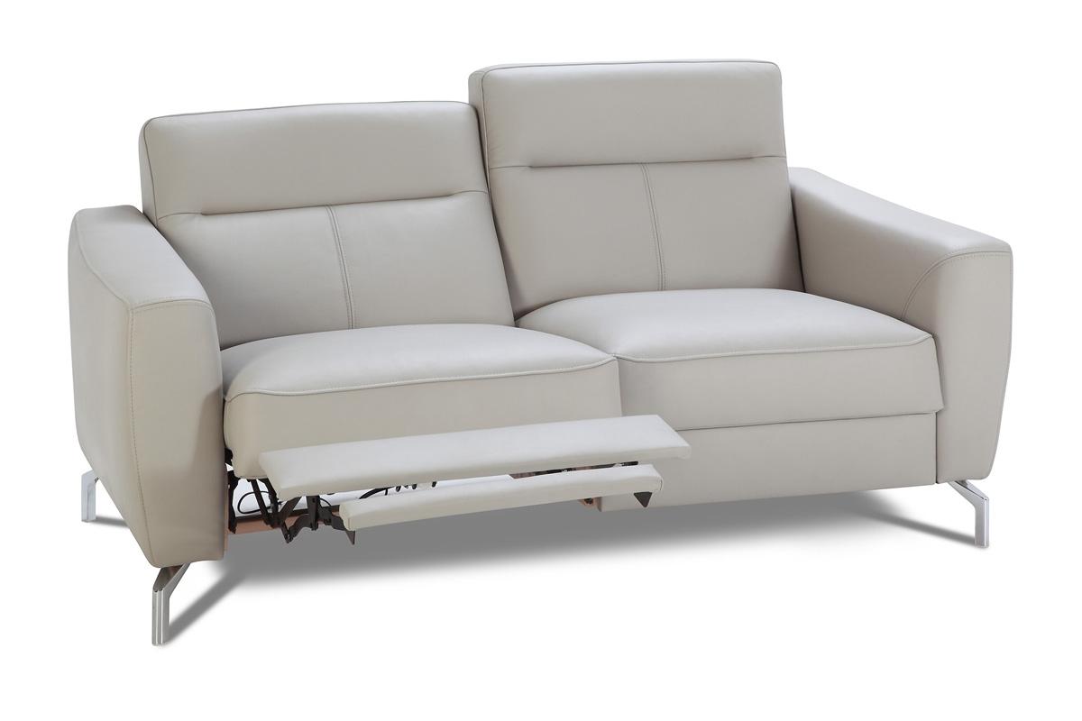 Ideal Sofa Sofa dwuosobowa z elektryczn± funkcj± relaks Madryt Skóra - Darmowa Dostawa