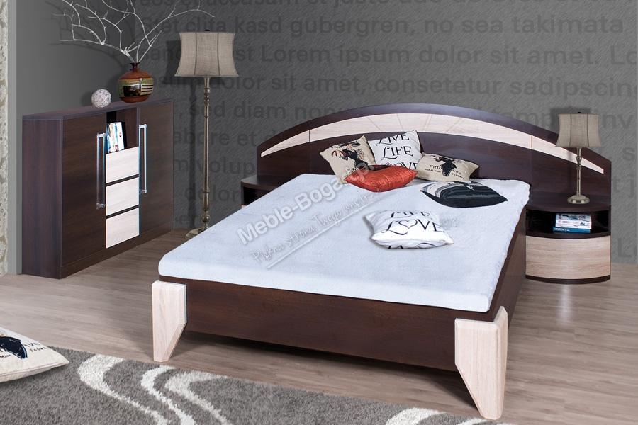 Nabytok-Bogart Komplet dome - posteľ dl1-1 + dva nočné stolíky + komoda dx1