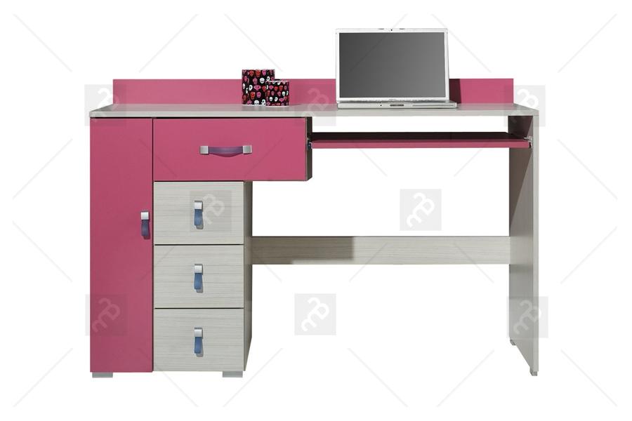 Nabytok-Bogart Ružový písací stôl km13 komi - výpredaj