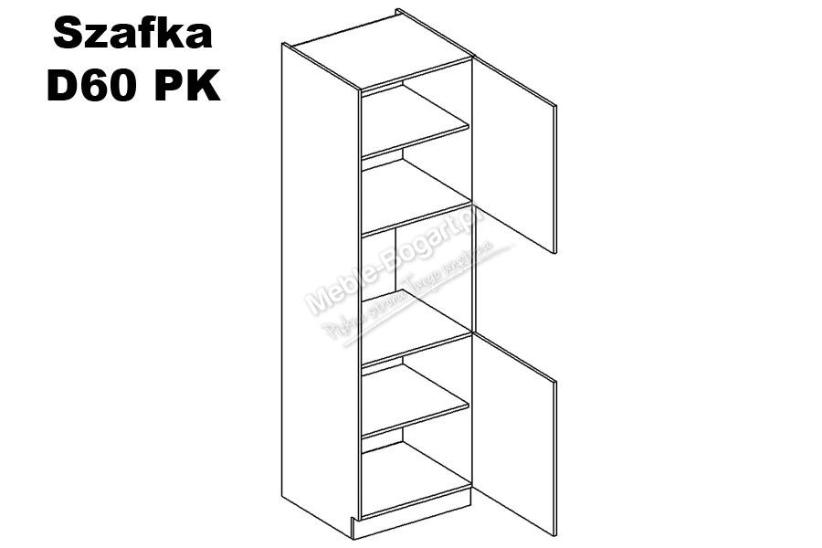 Nabytok-Bogart Anna d60 pk p/l - skrinka pre vstavaný sporák
