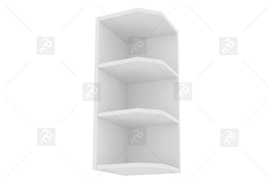Nabytok-Bogart Campari wz 3/72 - skrinka závesná zakonczeniowa, biela