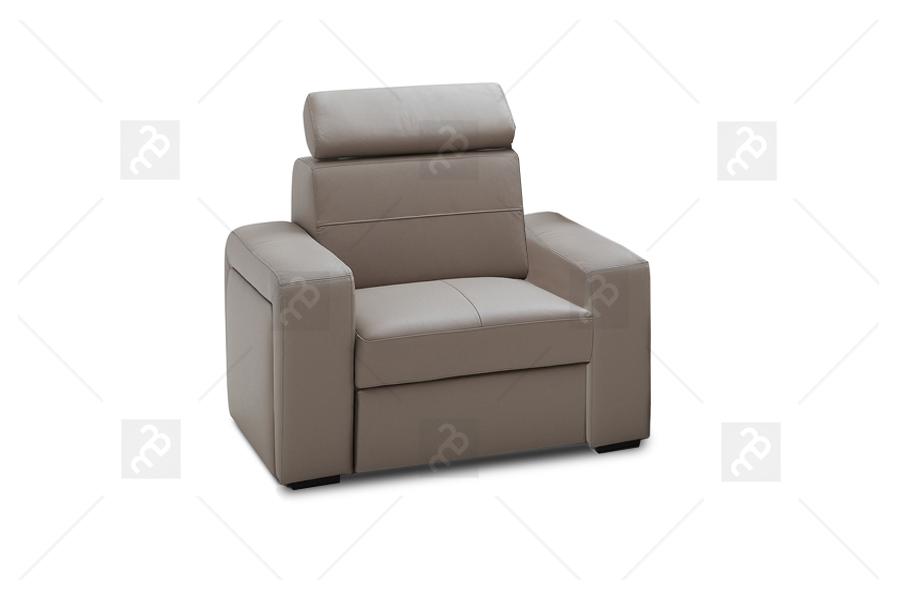 Ideal Sofa Fotel Basic Skóra