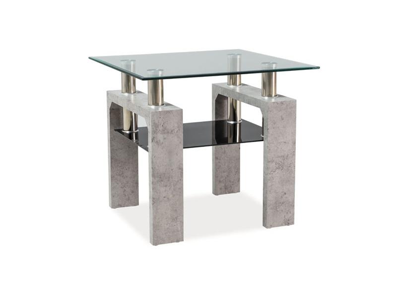Nabytok-Bogart Konferenčný stolík lisa d beton 60x60x55