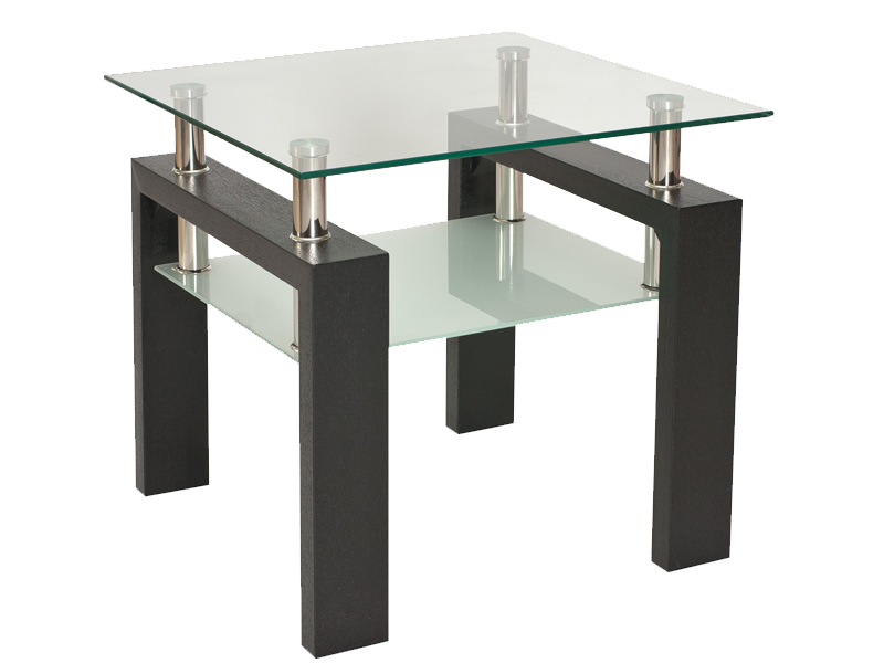 Nabytok-Bogart Konferenčný stolík lisa d venge h 60x60x55