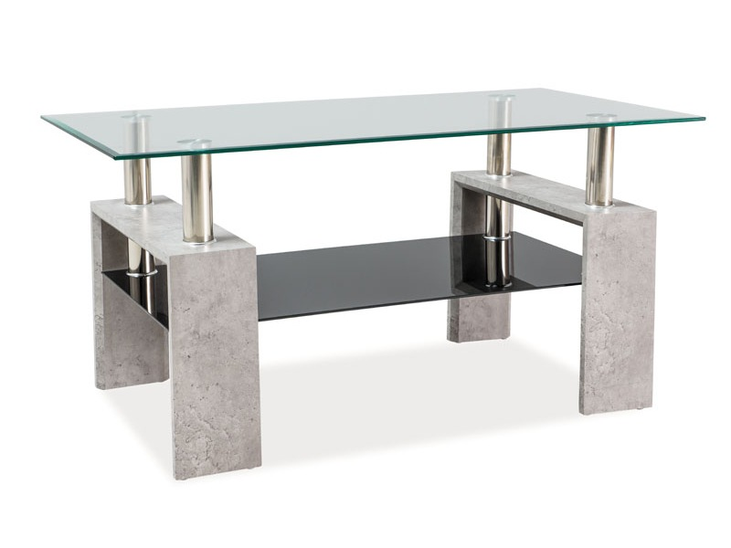 Nabytok-Bogart Konferenčný stolík lisa ii beton 110x60x55