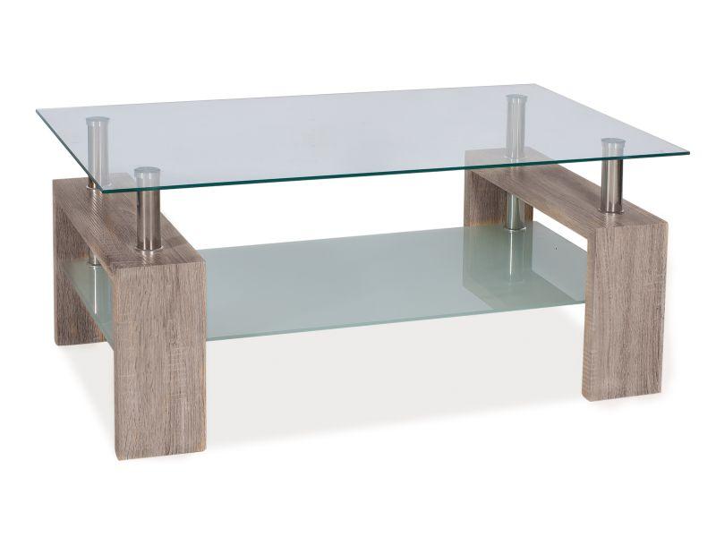 Nabytok-Bogart Konferenčný stolík lisa ii dab canyon 110x60x55