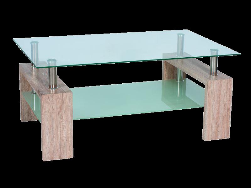 Nabytok-Bogart Konferenčný stolík lisa ii dab sonoma 110x60x55