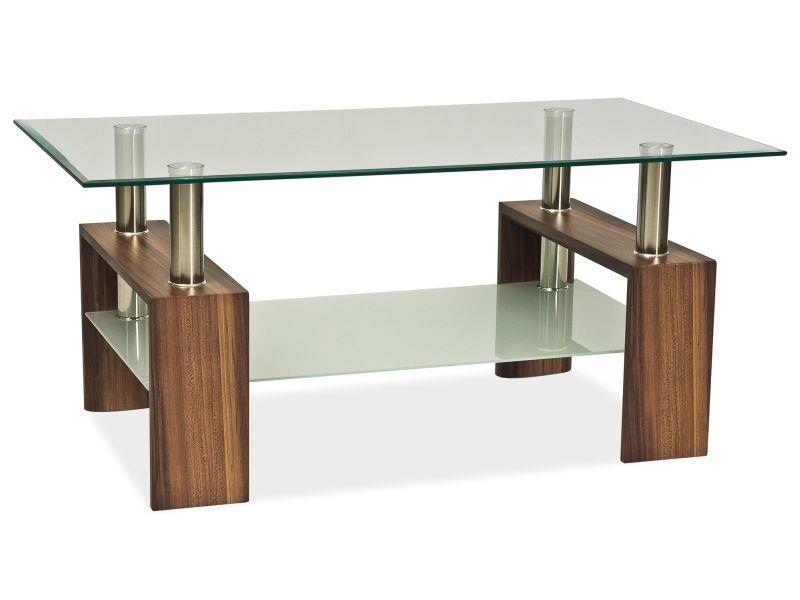Nabytok-Bogart Konferenčný stolík lisa ii orech 110x60x55