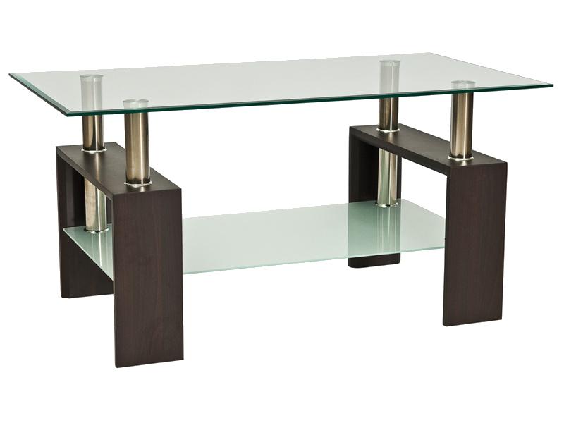Nabytok-Bogart Konferenčný stolík lisa ii venge h 110x60x55
