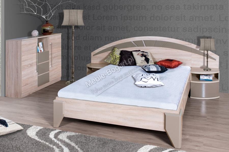 Nabytok-Bogart Komplet dome - posteľ dl2-1+ dva nočné stolíky + komoda dx2