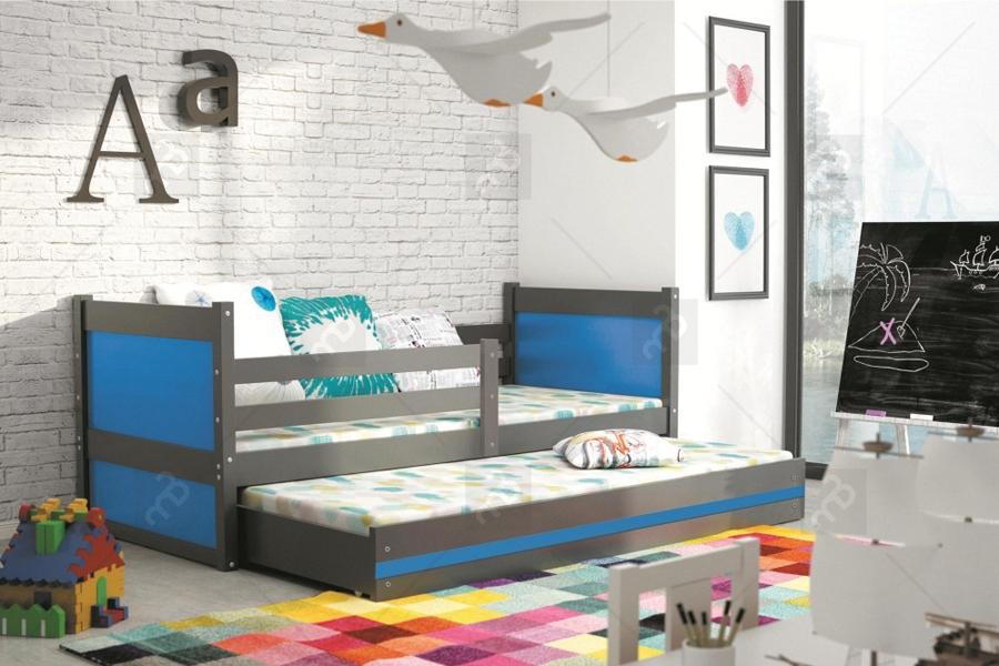 łóżko Oliwier 2 Os Dwupoziomowe 190 X 80