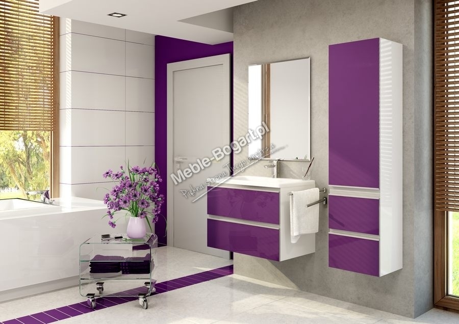 Madera - zestaw mebli łazienkowych