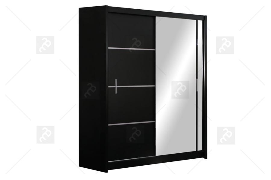 Szafa Vista 150 Czarny mat