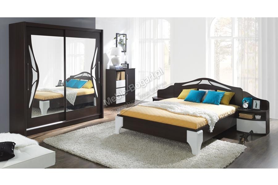 Nabytok-Bogart Komplet dome - posteľ dl1-4 + komoda dx3 + dva nočné stolíky