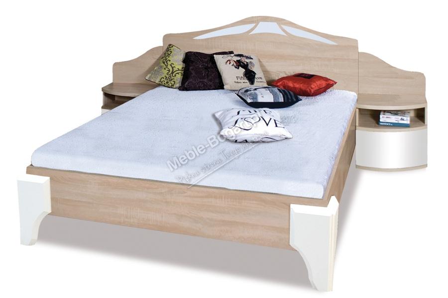 Nabytok-Bogart Komplet dome - posteľ dl2-4 + komoda dx4 + dva nočné stolíky