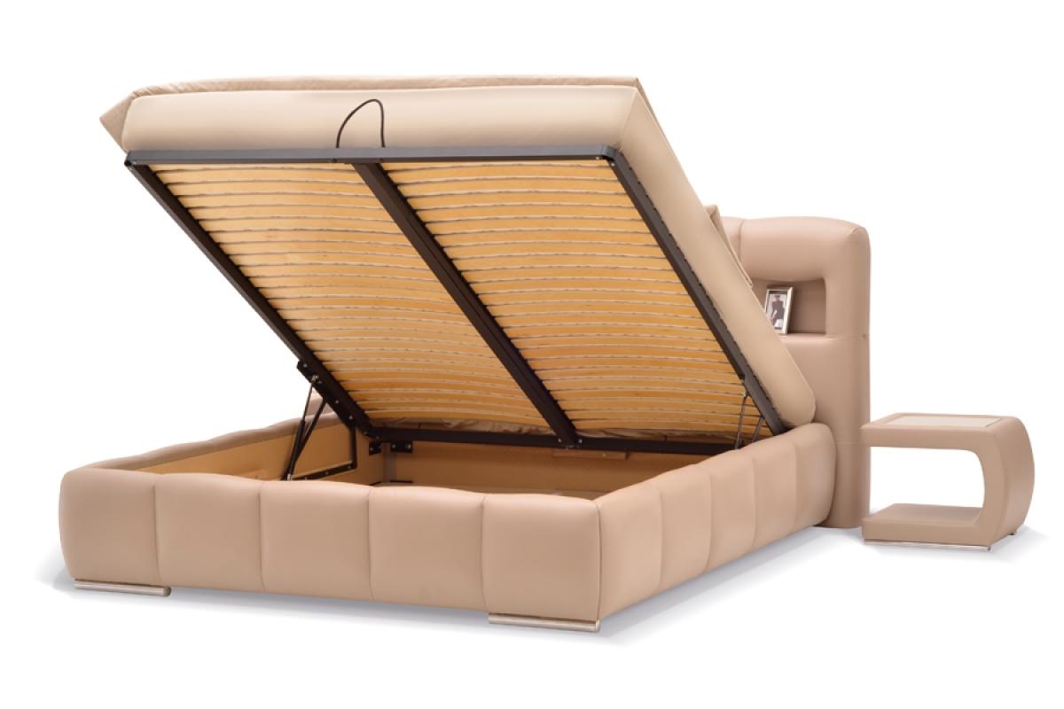Podnoszona Rama Metalowa Standard L53 Do łóżka Z Pojemnikiem