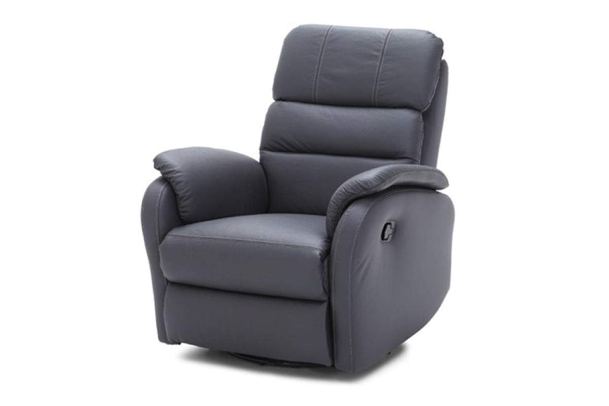 Ideal Sofa Rozkładany Fotel Amber z funkcją Relax Skóra