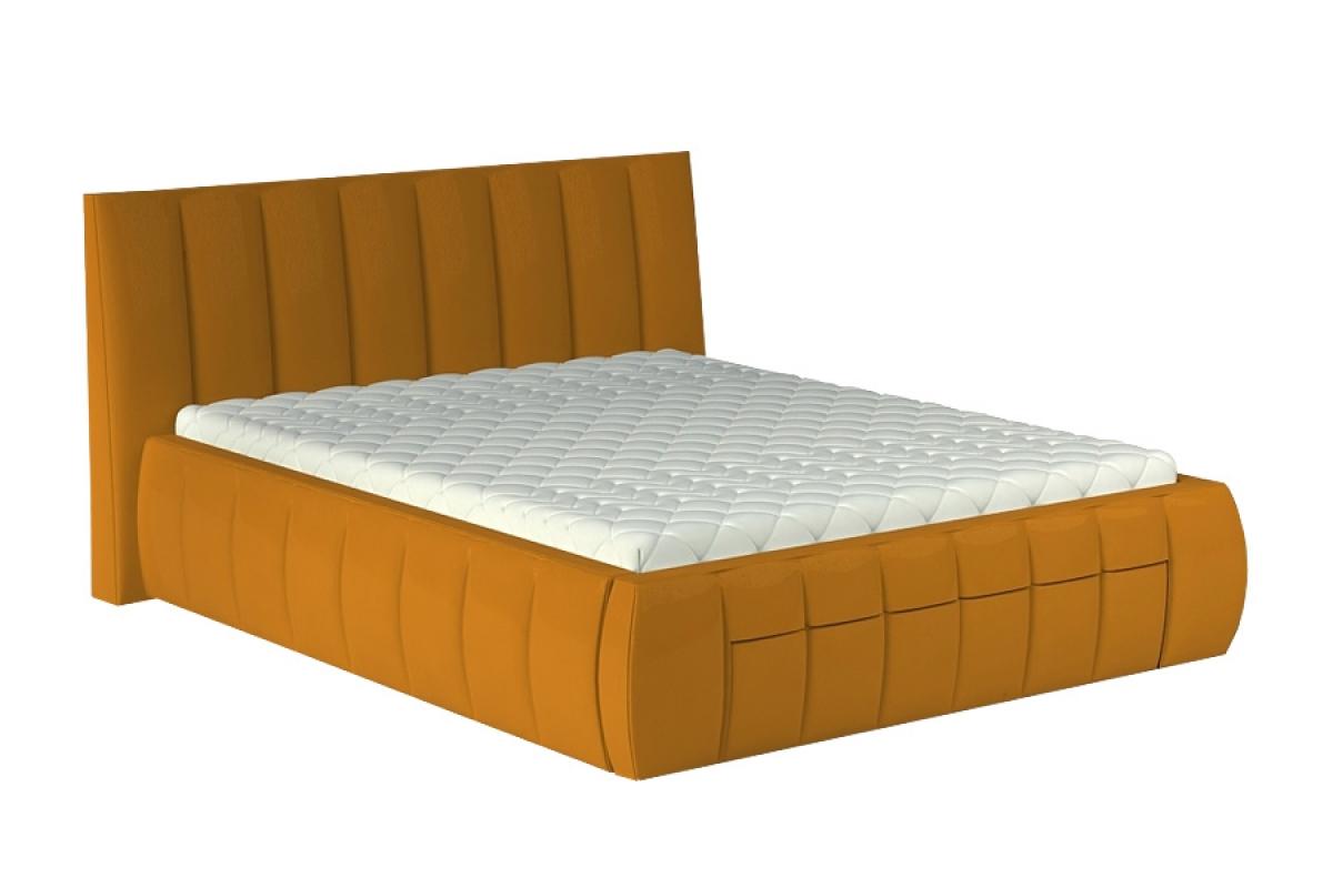 łóżko Sypialniane Roma 140 X 200 Wersal Z Pojemnikiem