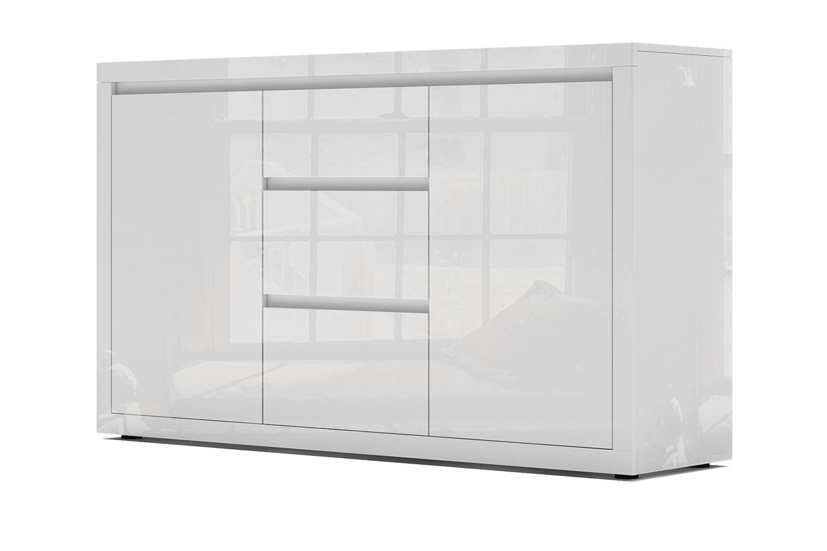 Bogart Design Komoda biała lakierowana wysoki połysk 2D3S Elvie 03