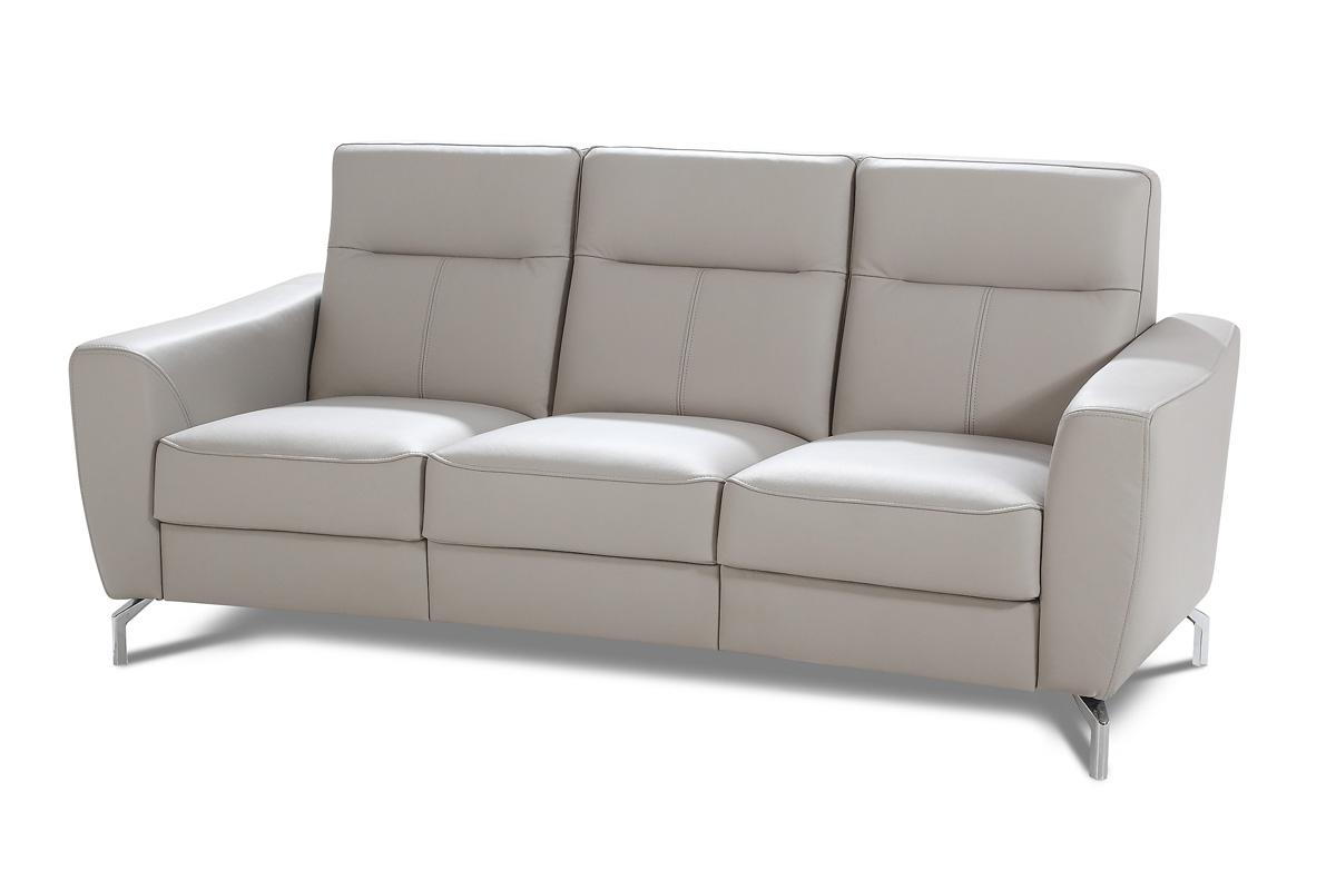 Bogart Design Sofa trzyosobowa do salonu Maybe Skóra - Darmowa Dostawa
