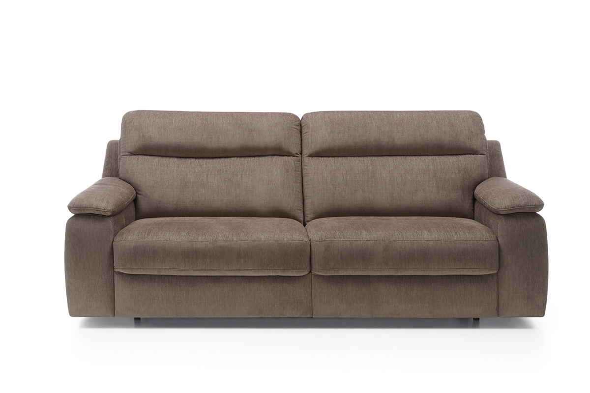 Bydgoskie Meble Sofa z funkcją spania Libretto 3F - Darmowa Dostawa