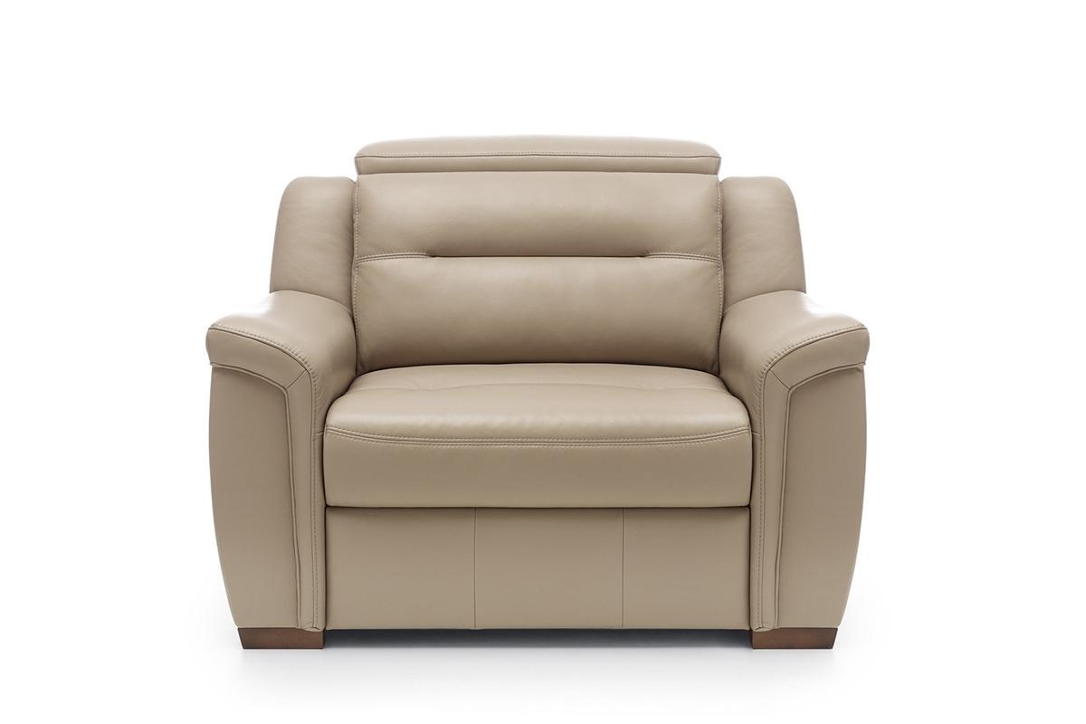 Bydgoskie Meble Fotel z regulowanym zagłówkiem Salmo