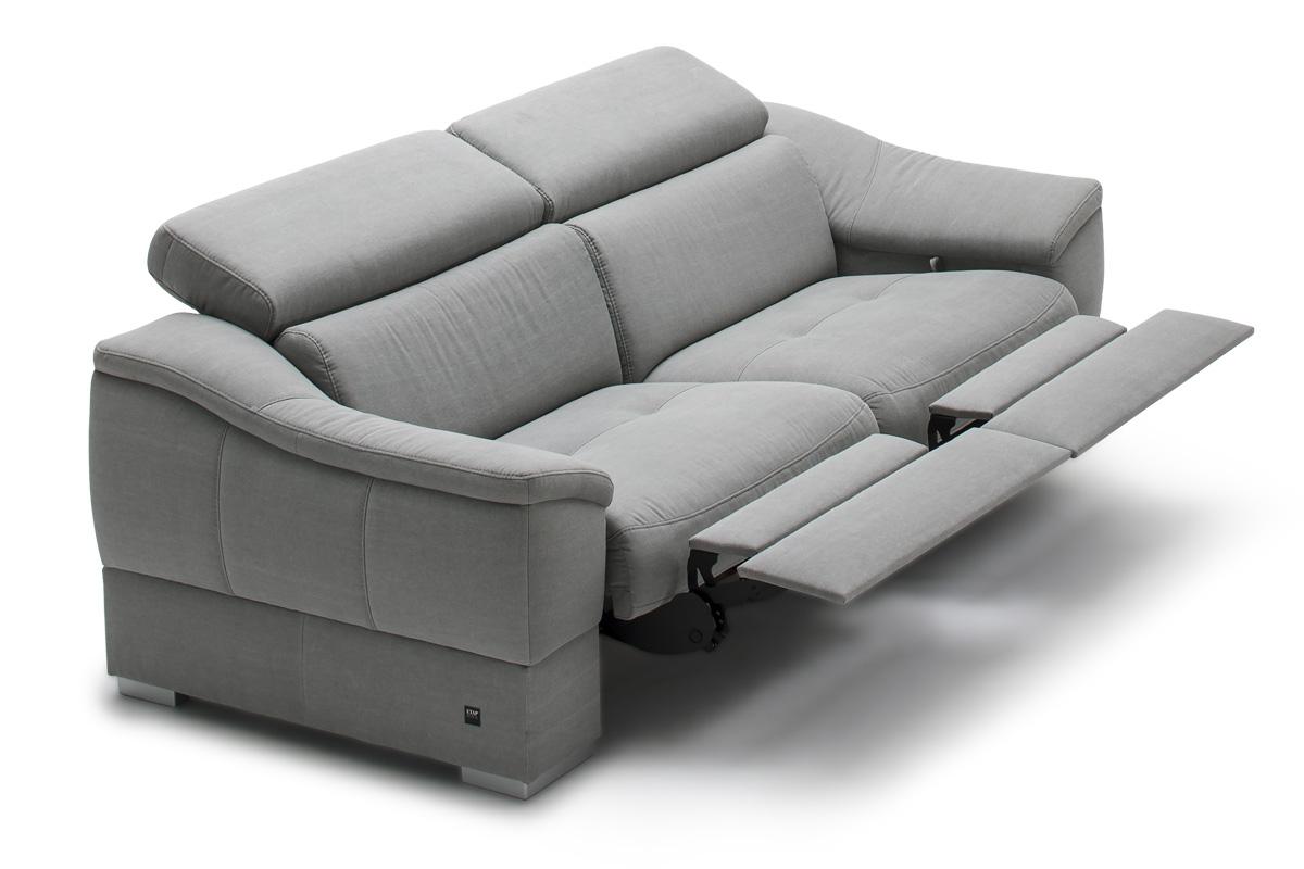 Etap Sofa Sofa z funkcją relaks manualną Urbano 2RF - Darmowa Dostawa