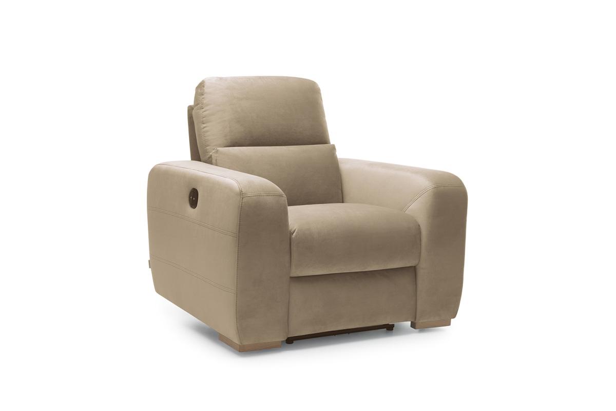 Bydgoskie Meble Fotel do salonu z manualną funkcją relax Imperia RF man