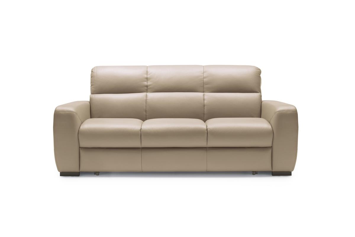 Bydgoskie Meble Sofa do salonu z funkcją spania Imperia 3F - Darmowa Dostawa