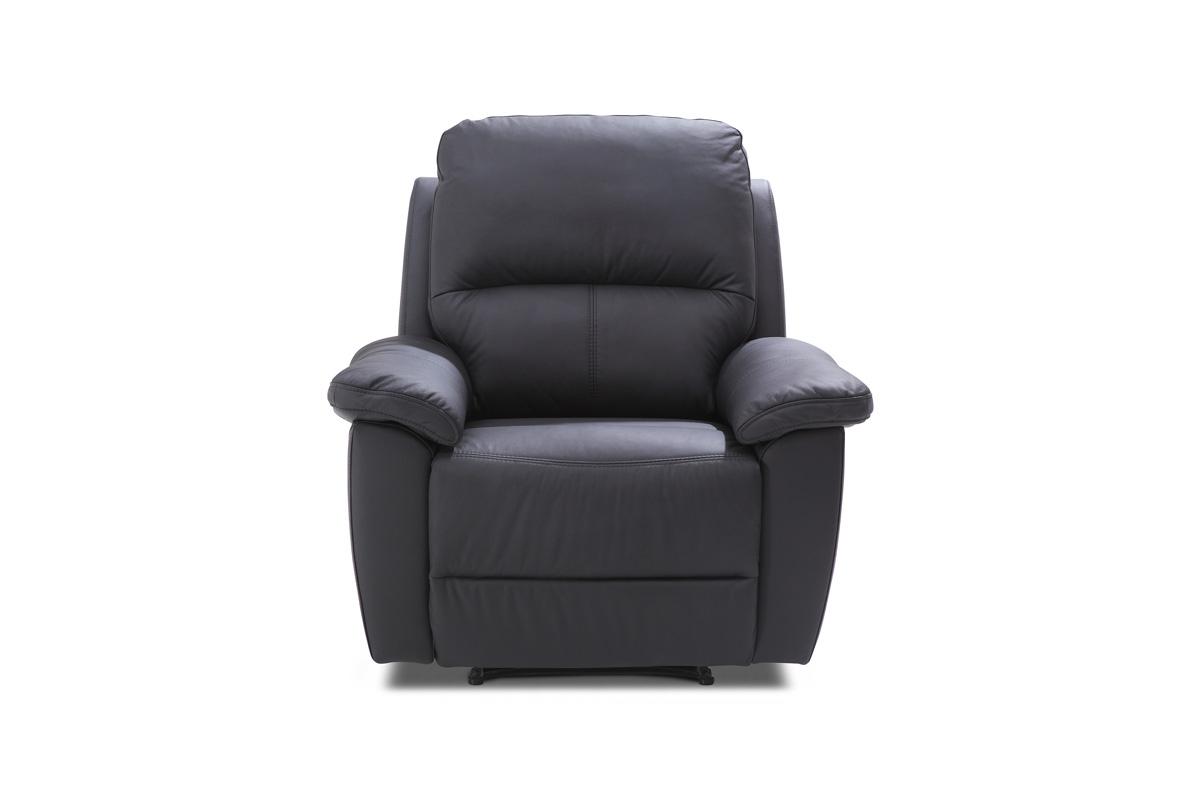 Bydgoskie Meble Fotel do salonu z manualną funkcją relax Twins 1RF
