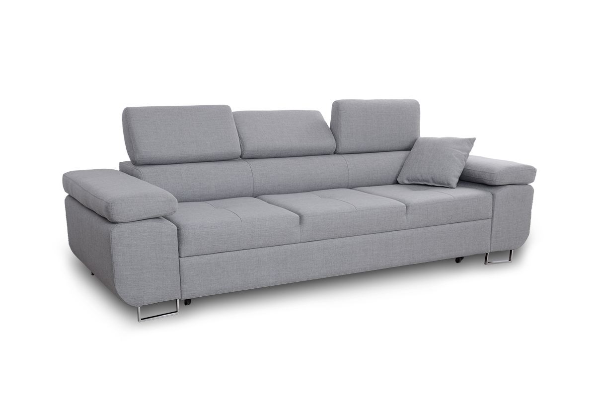 Meble-Bogart Nowoczesna sofa Annabelle II z regulowanymi pod³okietnikami