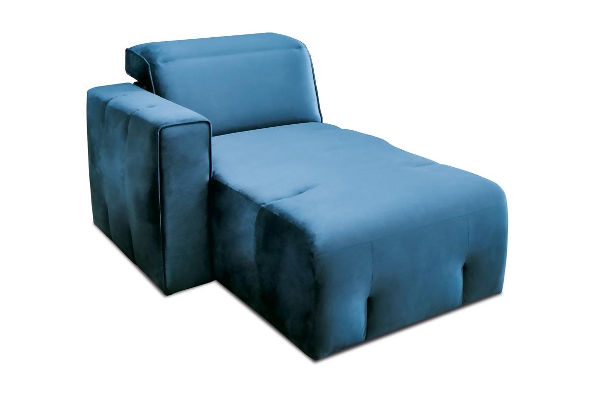 Etap Sofa Segment boczny z pojemnikiem Spot REC/BK L/P