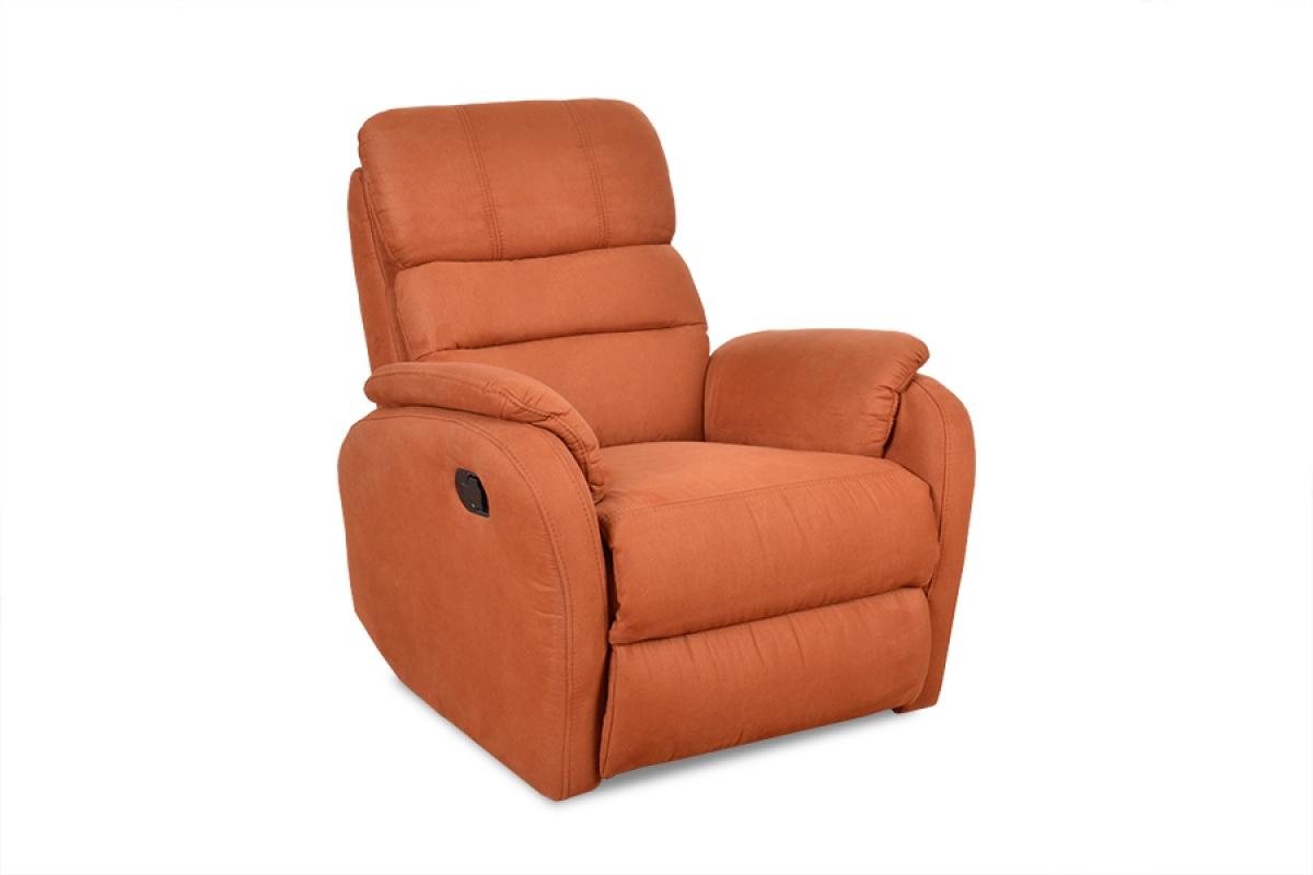 Rozkładany Fotel Amber z funkcją Relax - Tkanina