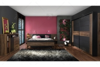 Ławka ze schowkiem BLQT021 Bellevue aranżacja sypialni