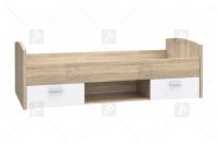 Komplet mebli młodzieżowych Winnie II jednoosobowe łóżko