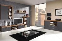 Komoda TV Sahara 08 Slivka/Grafit - výpredaj ! Obývacia izba