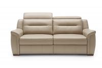 Sofa z funkcją spania Salmo 3F sofa w skórze