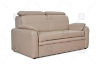 Sofa Amber - Skóra jasna sofa
