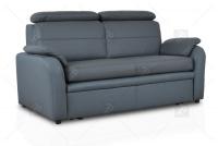 Sofa Amber - Skóra sofa z podłokietnikami