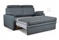Sofa Amber - Skóra sofa rozkładana