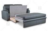 Sofa Amber - Skóra sofa z pojemnikiem