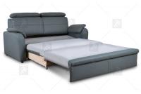 Sofa Amber - Skóra sofa z funkcją spania