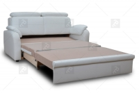 Sofa Amber - Skóra sofa do spania